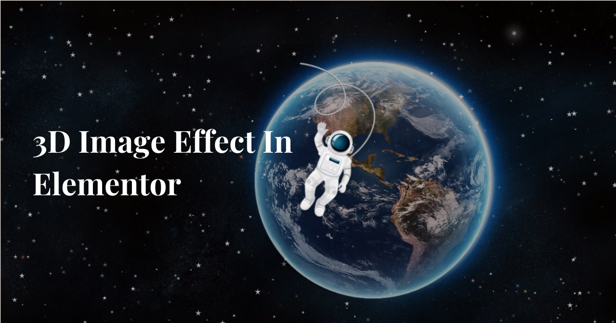 How To Create 3D Image Effect In Elementor Pro - Elementor ...